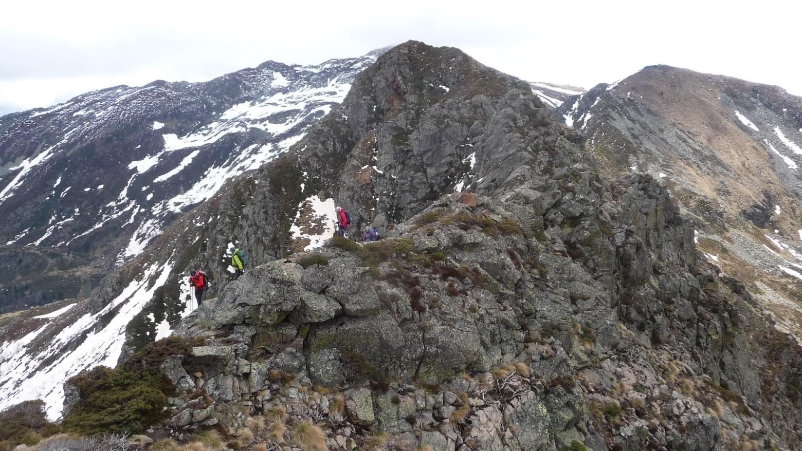 Etg d'Appy - Col de l'Etg d'Appy - Pic Galinat par la crête Est