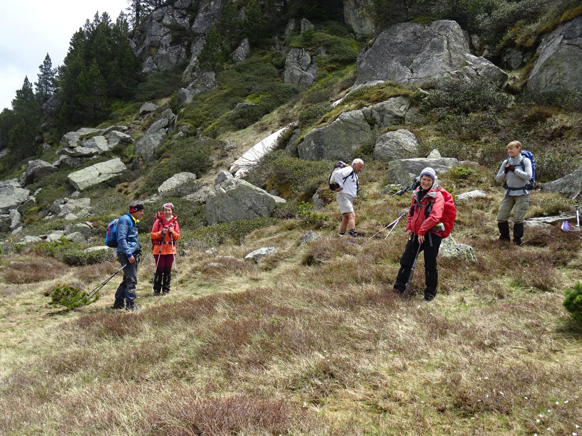 Au Col d'Aychade