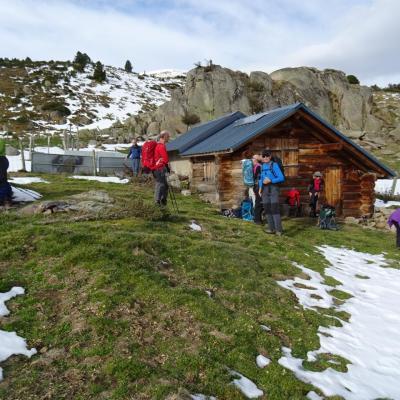 Cabane du Roc de Sorgeat (1735m)