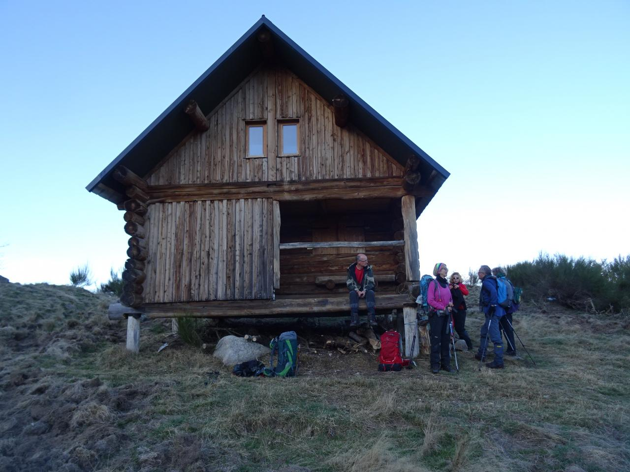 Au retour Cabane de Gireys (1460m)