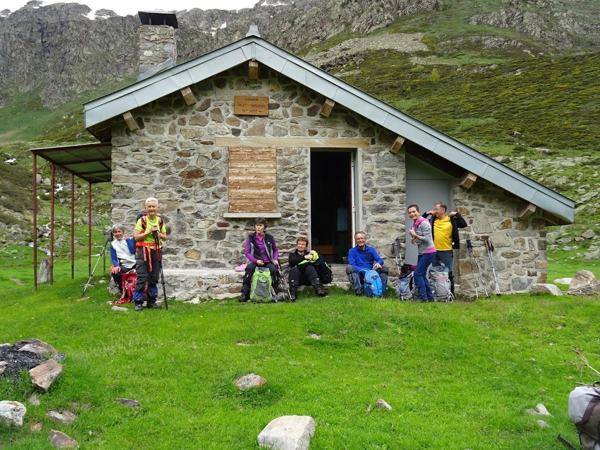Cabane de Prat Redoun objectif de la sortie