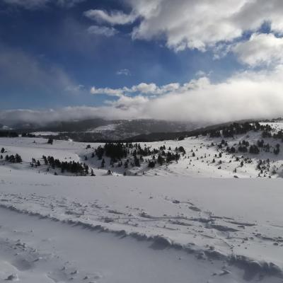 Ski à Beille - Christophe