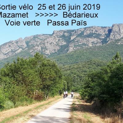25-06-2019 Sorties Vélo Bédarieux et Auvillar